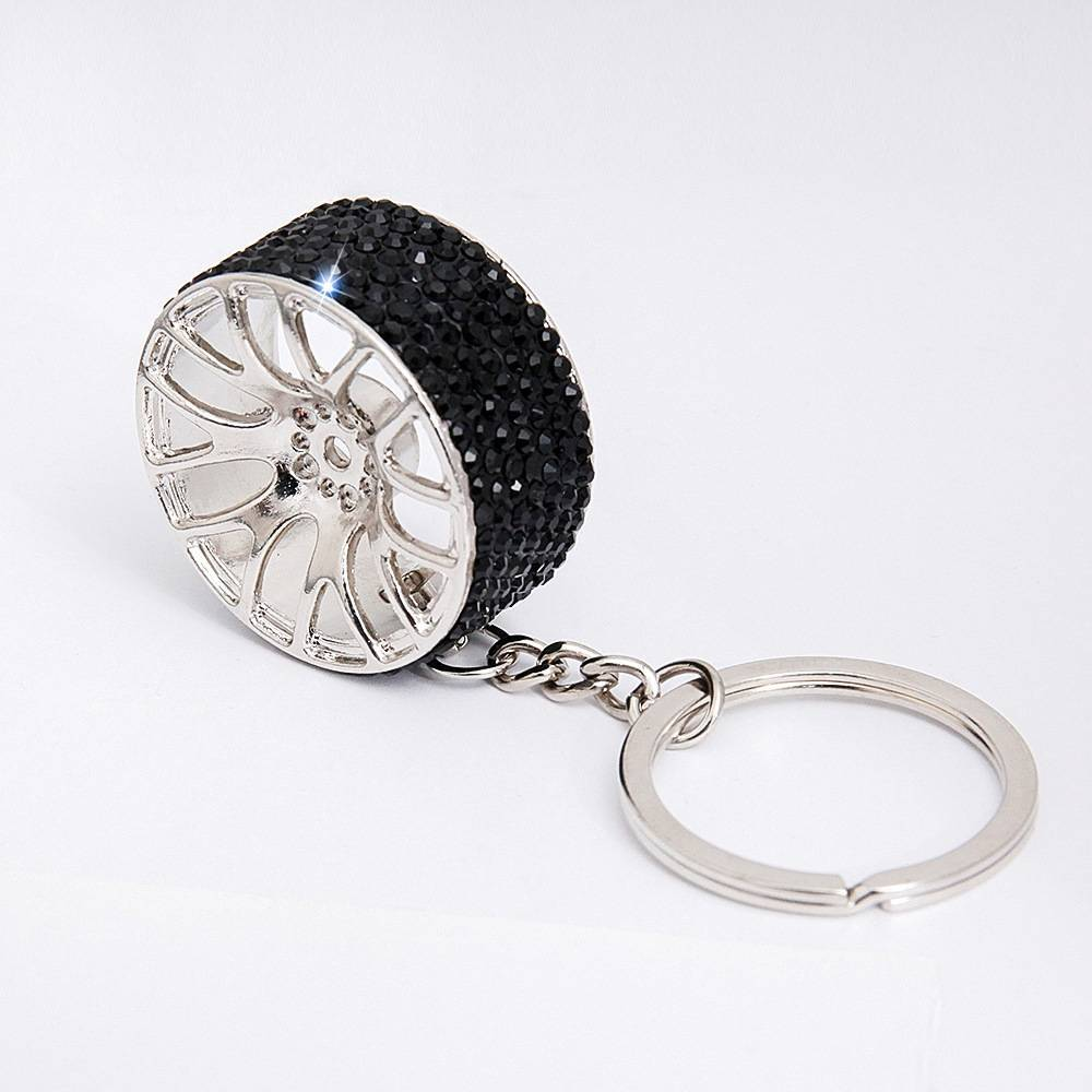 Diamond pull buckle Waist Hanged Key Ring