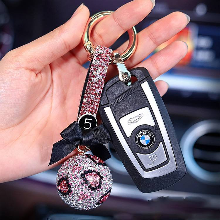 Diamond Turbocharged Advertising Waist Hanged Key Ring
