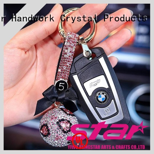 Blingstar jewelry diamond key chain factory price for key