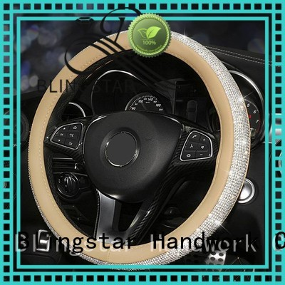 Blingstar fragrance crystalized steering wheel cover Suppliers for auto