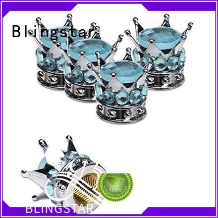 Blingstar crown diamond auto parts overseas market for car