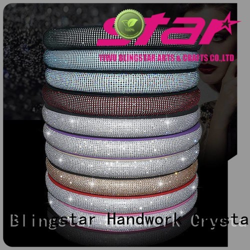 Blingstar high quality diamond Automotive accessories overseas market for car